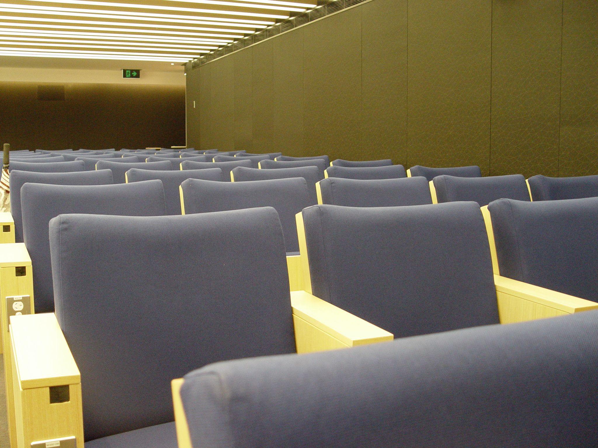 Auditorium Seating and Acoustic Wall Paneling